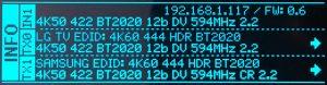 Hdfury Vertex 2 Oled TX